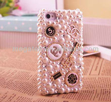 Cell phone accessories phone case Jewelry luxury style hard Rhinestone case for iphone 5 4