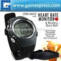 wireless monitor de freqüência cardíaca 30m fitness hrm assistir cinta no peito cinto esporte sensor contador de calorias timer