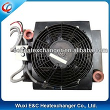 bar & plate construction type of oil cooler part