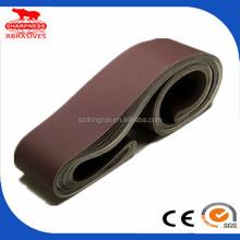 alumina oxide sand belt for wood and iron