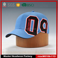 Custom 6 panel baseball cap