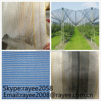 China factory wholesale plastic anti hail netand hail mesh plant covers ,hail protection net /net to protect trees