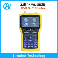 ws-6939 No Custom Duty, Satlink WS-6939,Digital satellite&terrestrial combo meter, DVB-S / DVB-T WS6939