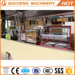 High quality electric dining bus made in China !
