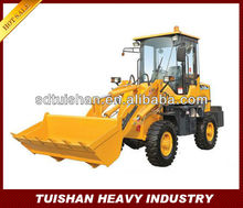 490 diesel engine 1.8tons rated loading small farm wheel loader made in China