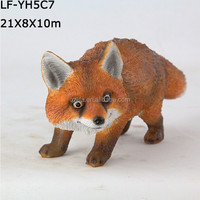 resin figure fox animal made in China