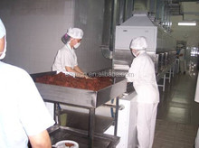 Industrial meat dryer/meat sterilizer/continuous microwave beef drying machine