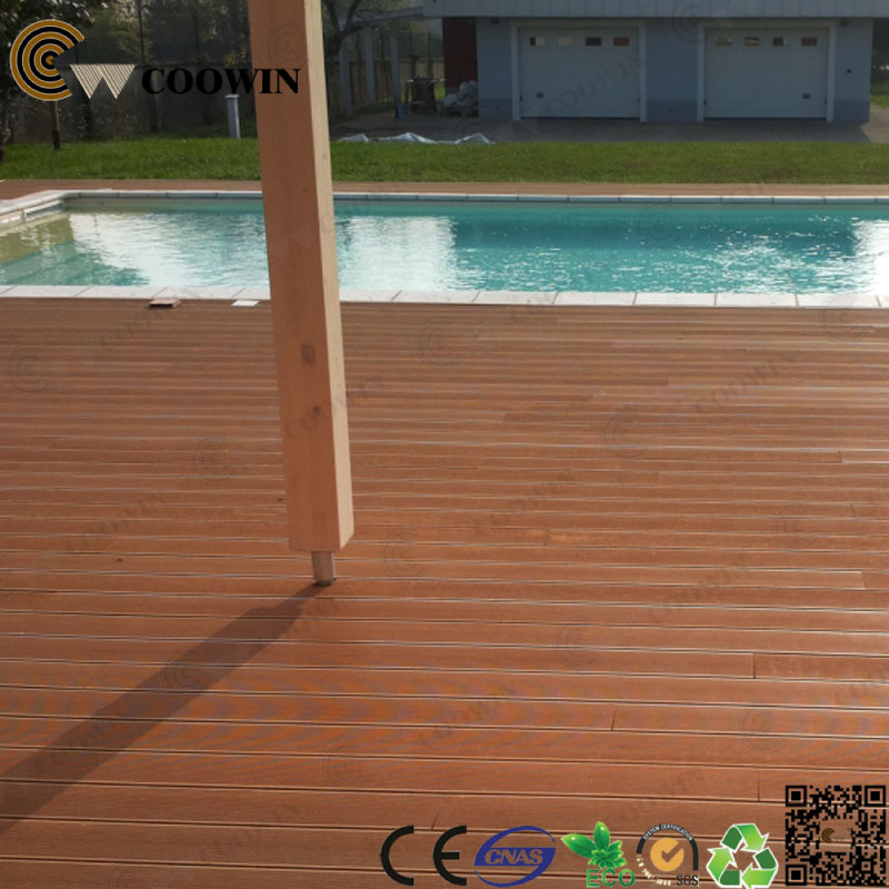Wpc Wood Plastic Cover Slats Swimming Pool Deck Flooring Around Pool Buy Deck Flooring Wpc