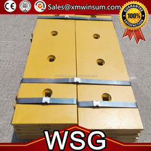 WSG Excavator Mud Bucket with bolt on cutting edge, different design, suit for kinds of excavator