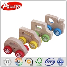 new 2016 made in italy wholesale funny babies wooden toy vehicle