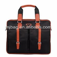 2014 nueva llegada documento& multi utilidad bolsillos bolsa bolsa de fábrica para los hombres de diseño supra naranja/negro