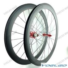 Entrega rápida ruedas del carbón del remachador 50 mm para bicicleta 700c bicicleta de carretera