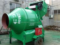 Alibaba trade assurance concrete mixer self loading
