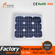 1 20w monocrystalline silicon solar panels the charging panel