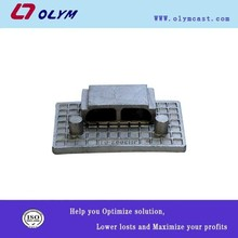 OEM china high quality products precision casting glass clamp spare parts casting as per drawing