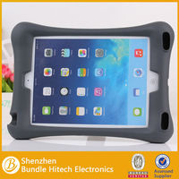 2014 new soft protective silicon case for iPad 5,for ipad air stand case