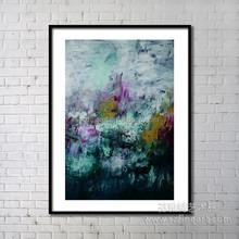 Diseño Original últimas abstracto <span class=keywords><strong>de</strong></span> la pared pintura sobre vidrio