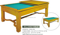 the latest model fashion pool table and dinner table combo with chairs