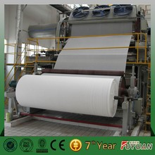 engineers available overseas toilet tissue paper making machine price /paper machine with paper processing equipment