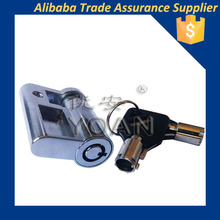 high security tubular profile cylinder and key with master key system