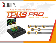 GLORIFY Wireless Tire Pressure Monitoring System (TPMS) HUD