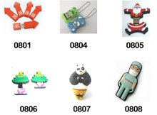 Factory Price PVC or Silicone USB 2.0 3.0 Flash Disk, Drive