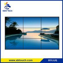 55 inch wall mount ultra narrow bezel lcd video tv wall with HDMI/VGA/DVI input