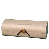 China supplier FSC&CARB fancy softwood tea box