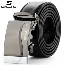 2015 Automatic Buckle Men's Genuine Leather Belt For Sale