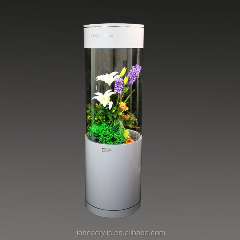 Acrylic Cylindrical Aquarium,Columniform Fish Tank,Acrylic Fish Tank ...