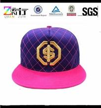 Wholesale Blank Plain Good Quality Custom Embroidery Basketball Snapback Hat