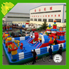 Fairground park kids exciting inflatable jumping castle