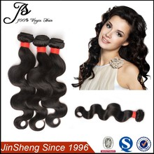 Alli Express Top Quality Wholesale Price Body Wave Virgin Brazilian Hair Extension, Brazilian Human Hair