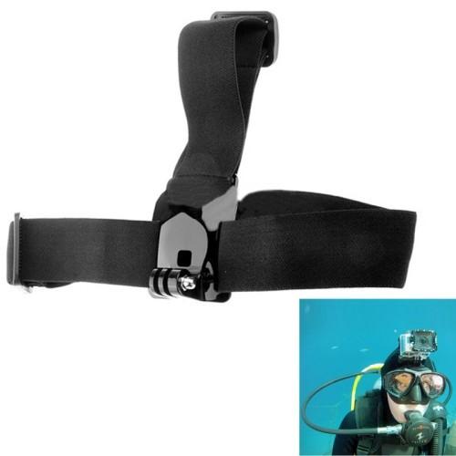 ST-24 противоскользящие регулируемый эластичный голову ремешок ремень для gopro hd hero / hero2 / hero3