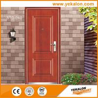 Yekalon Modern security door steel door,Metal Door, Iron Entrance Door STD-040