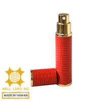 Eau de parfum portable leather wrapped 8ml spray