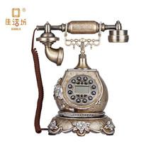 resina teléfono antiguo reproducción de muebles antiguos