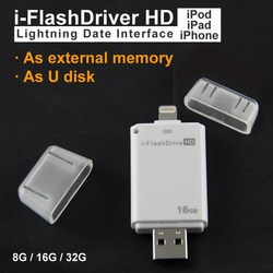 2015 New Design i-Flash Driver HD U-dick data for iPhone/iPad/iPod,micro usb interface flash drive for PC/MAC pen driv