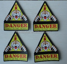 Custom rubber patch for at competitive price uniform pvc badges