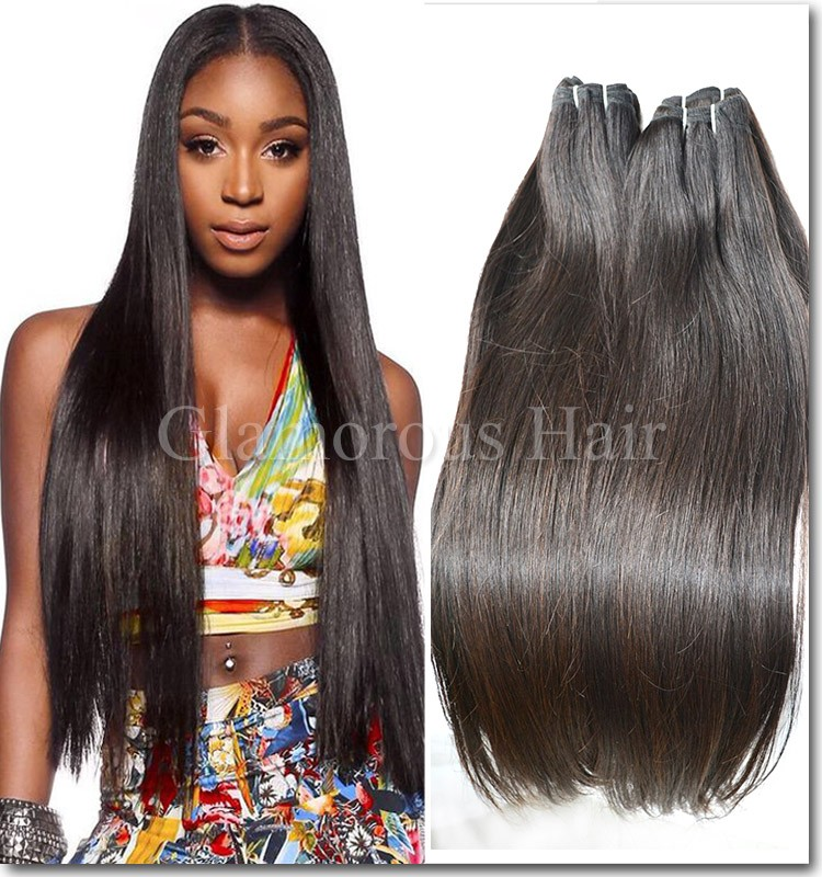 Flat Head Straight 100 Human Hairtop Human Hair Extensions Factory