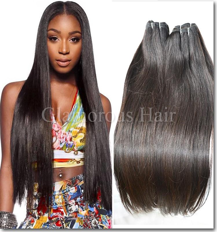 Flat Head Straight 100 Human Hairtop Human Hair Extensions Factory