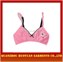 2015 wholesale plastic underwire bra for young lady