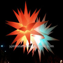 Chinese hot sale inflatable hanging star wedding decoration party favor