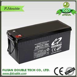 sealed lead acid battery 12v 200ah