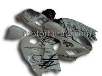 For suzuki fairings GSXR1300 97-07 Motorcycle Body Kits-Fashion COOLwhite