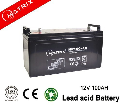 Good quality 12v 100ah inverter battery