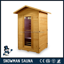 Outdoor Ozone Hemlock Far Infrared Sauna Room