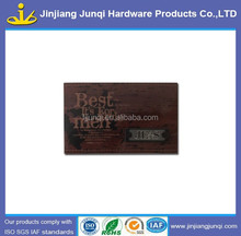 Jeans leather patch label