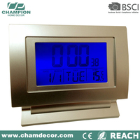 12v led digital 24 second shot clock , 15 inch led digital wall clock mounted