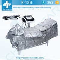 Latest far infrared lymphatic drainage air pressure slim equipment with CE approval
